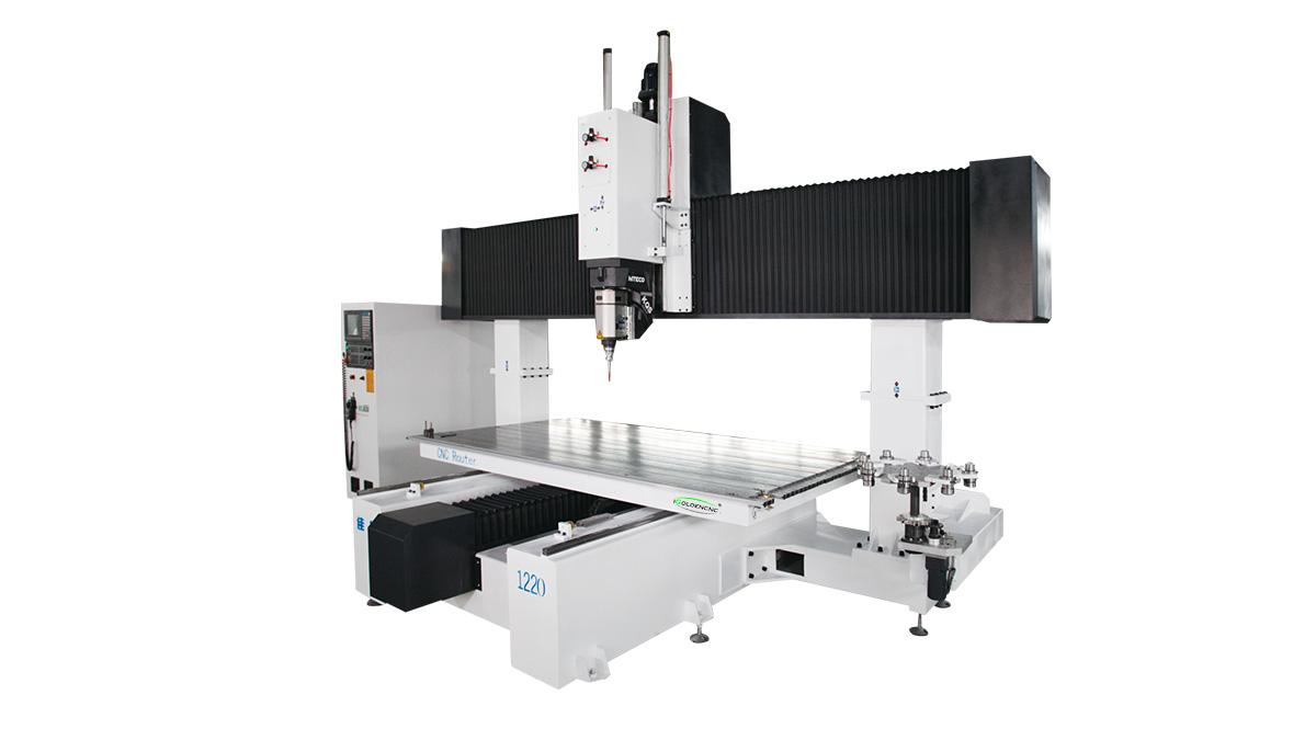 Machine de routeur CNC à 5 axes ATC