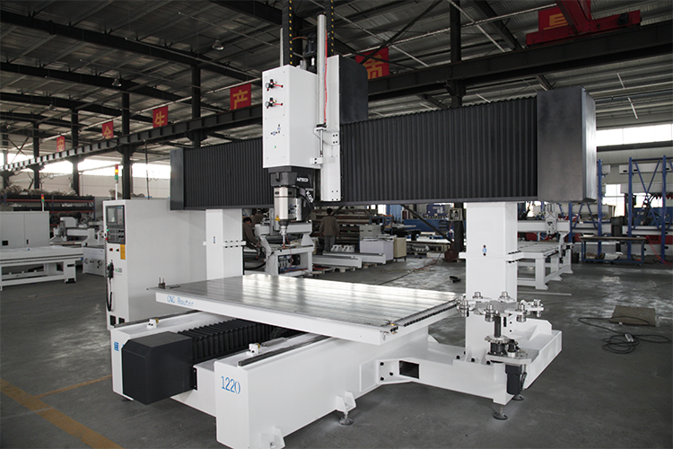 Machine de routeur CNC 5 axes ATC